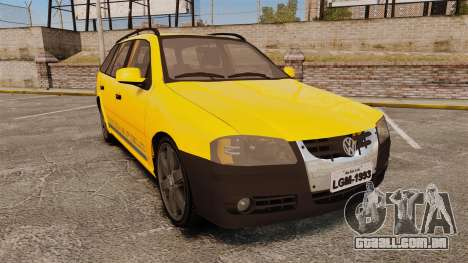 Volkswagen Parati G4 Track and Field 2013 para GTA 4