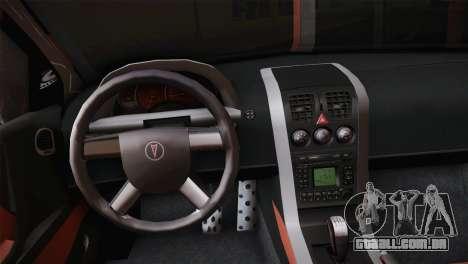 Pontiac GTO 2005 para GTA San Andreas vista traseira