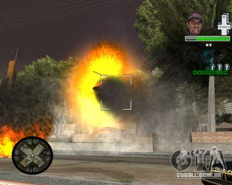С PELE SWAG para GTA San Andreas terceira tela