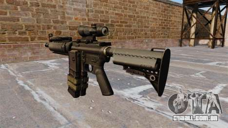 Automático carabina M4 para GTA 4 segundo screenshot