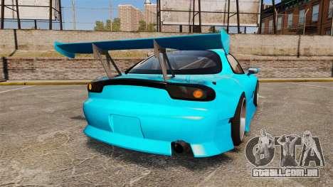Mazda RX-7 Super Edition para GTA 4 traseira esquerda vista