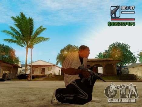 A metralhadora UZI para GTA San Andreas segunda tela