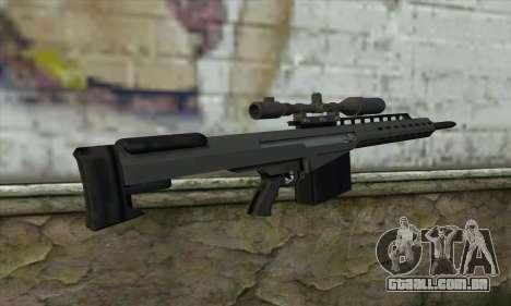 GTA V Heavy sniper para GTA San Andreas segunda tela