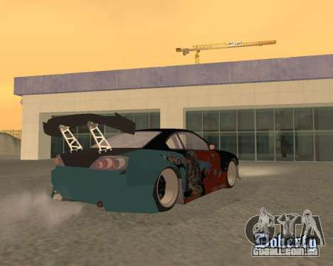 Nissan 150sx Evil Empire para GTA San Andreas esquerda vista