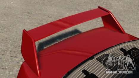 Mitsubishi Lancer Evolution IX para GTA 4 traseira esquerda vista