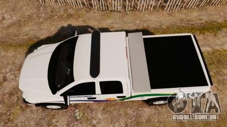 Dodge Ram 2500 2006 DACS [ELS] para GTA 4 vista direita