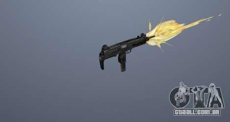 A metralhadora UZI para GTA San Andreas twelth tela
