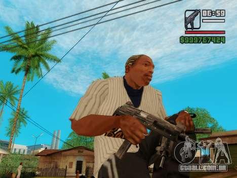 A metralhadora UZI para GTA San Andreas