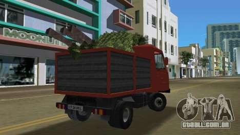 Multicar para GTA Vice City vista traseira