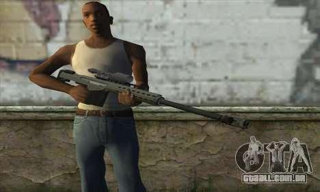 GTA V Heavy sniper para GTA San Andreas terceira tela
