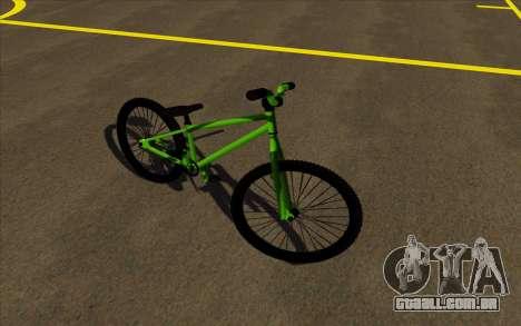 Street MTB bike para GTA San Andreas esquerda vista