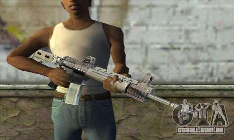 M4A1 из S.T.A.L.K.E.R. para GTA San Andreas terceira tela