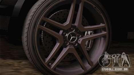 Mercedes-Benz ML63 para GTA San Andreas vista direita