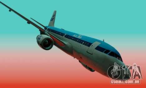 Airbus A319 KLM para GTA San Andreas