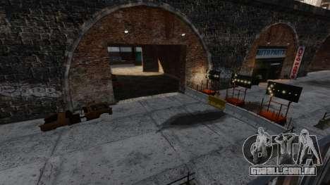 Fora-de-pista v2 para GTA 4 sexto tela