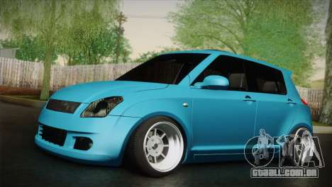 Suzuki Swift Hellaflush para GTA San Andreas