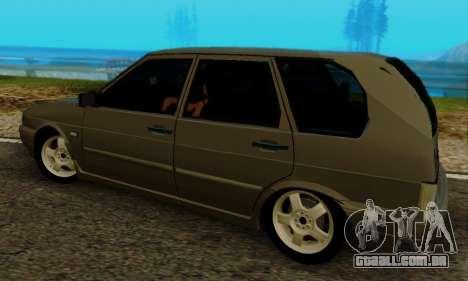 VAZ 2115 de Imóveis para GTA San Andreas vista direita