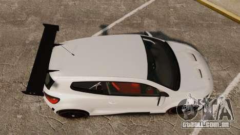 Volkswagen Scirocco para GTA 4 vista direita