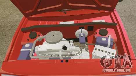 VAZ-2109 Satélite para GTA 4 vista interior