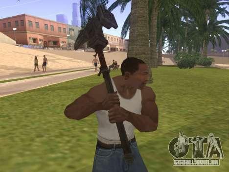 Baton Marker para GTA San Andreas