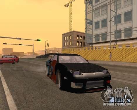 Nissan 150sx Evil Empire para GTA San Andreas vista traseira