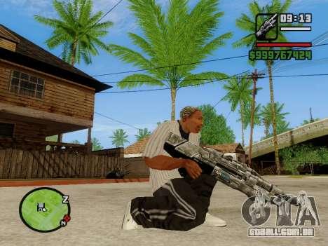 M-86 Sabre v.2 para GTA San Andreas terceira tela