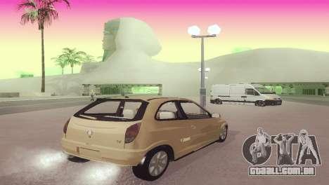 Suzuki Fun para GTA San Andreas traseira esquerda vista