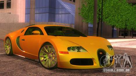 Bugatti Veyron 2009 para GTA San Andreas