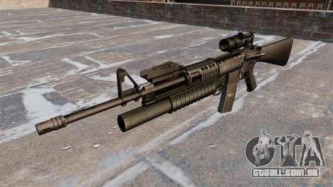 Tática rifle M16A4 para GTA 4 terceira tela