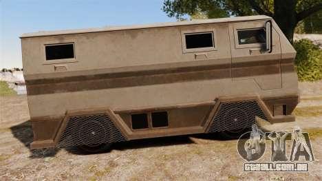 GTA IV TBoGT HVY Brickade para GTA 4 esquerda vista