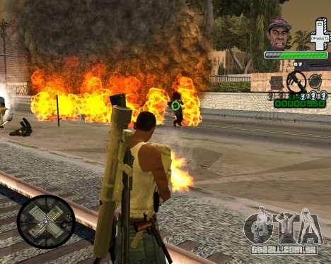 С PELE SWAG para GTA San Andreas segunda tela