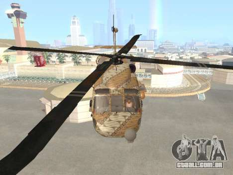 SH-60  Batik Indonesia para GTA San Andreas vista interior