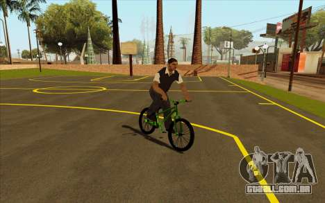 Street MTB bike para GTA San Andreas vista direita