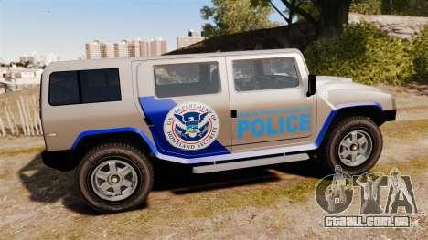 Patriot Police v2.0 para GTA 4 esquerda vista