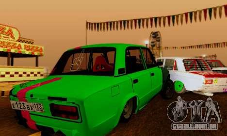 BMWAZ para GTA San Andreas vista direita