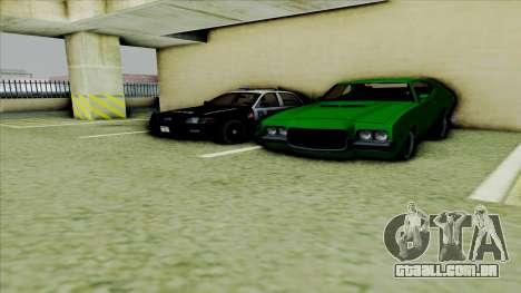 Ford Crown Victoria Police Interceptor para GTA San Andreas vista traseira