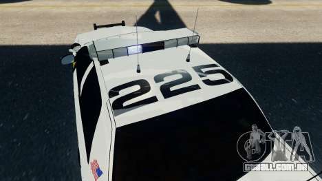 Ford Crown Victoria LCPD [ELS] para GTA 4 vista direita