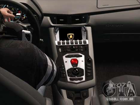 Lamborghini Aventador LP700-4 2013 para GTA San Andreas