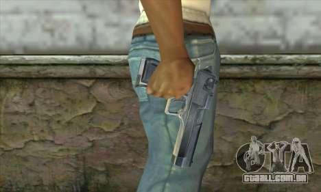 A arma de Stalker para GTA San Andreas terceira tela
