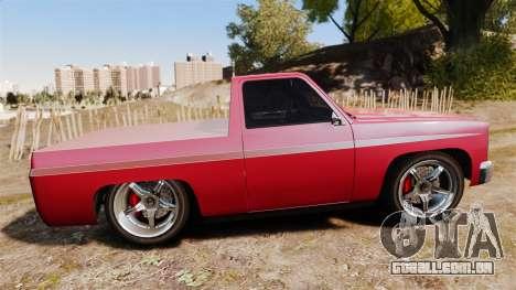 Rancher Lowride para GTA 4 esquerda vista