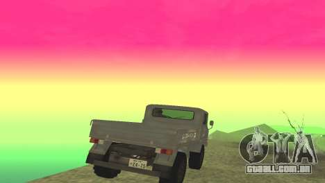 Mitsubishi 2W400 para GTA San Andreas vista direita