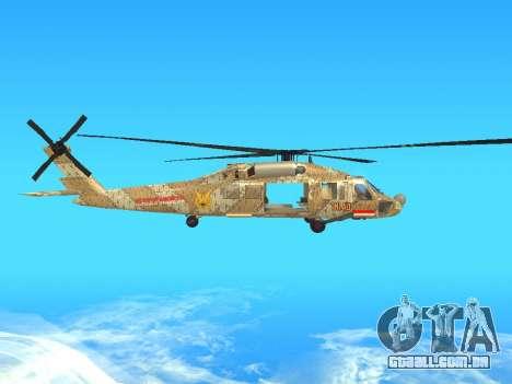 SH-60  Batik Indonesia para GTA San Andreas vista traseira