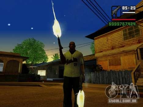 A metralhadora UZI para GTA San Andreas décimo tela
