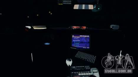 Ford Crown Victoria LCPD [ELS] para GTA 4 vista de volta