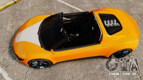 GTA V Dinka Jester HD para GTA 4 vista direita