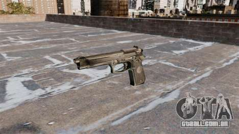 Auto-carregamento de pistola Beretta 92FS para GTA 4 terceira tela