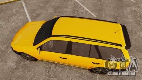 Volkswagen Parati G4 Track and Field 2013 para GTA 4 vista direita