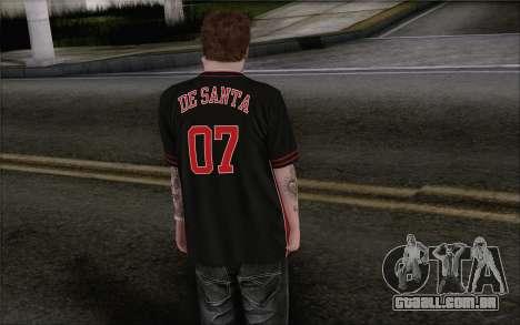 Jimmy De Santa para GTA San Andreas segunda tela