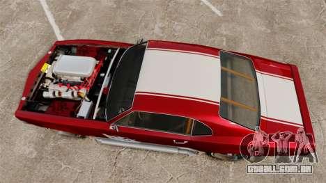 Declasse SabreGT Mexican Style para GTA 4 vista direita