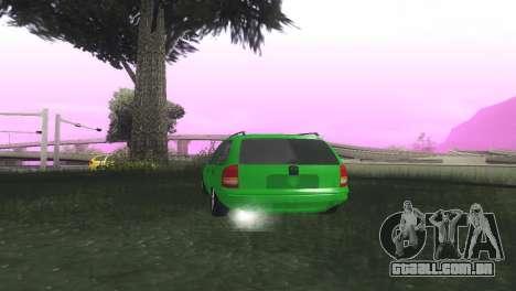 Chevrolet Corsa Wagon para GTA San Andreas traseira esquerda vista